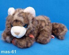 TEDDY HERMANN BABY KATZE CAT 25 CM STOFFTIER WEICH