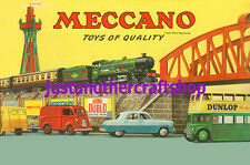 Meccano Hornby Dinky large A3 size 1957 Poster Advert Sign Leaflet high quality