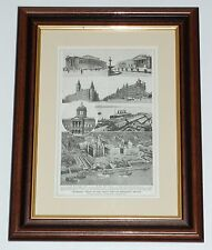 Print circa 100 years old Liverpool Views of the Port (available unframed)