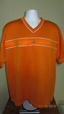 XL Adidas V Neck Casual Athletic T-Shirt Orange Tennessee Volunteers Colors Vols