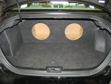 "ZEnclosures 2-12"" Subwoofer Sub Speaker Box for the 2006-2012 FORD FUSION"