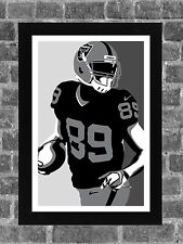 Oakland Raiders Amari Cooper Sports Portrait Print Art 11x17