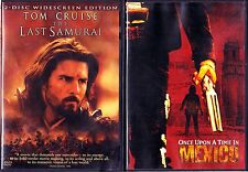 The Last Samurai, 2 Discs & Once Upon A Time In Mexico