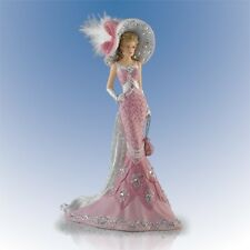 Radiant Sophistication Swarovski Crystals Thomas Kinkade Lady Figurine Bradford