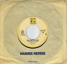 THE BEACH BOYS  Rock And Roll Music / The TM Song 45 from 1976