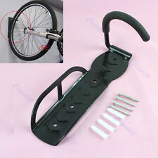 Bike Bicycle Cycling Storage Wall Mounted Mount Hook Rack Hanger Holder Stand