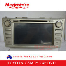 "8.0"" Car DVD GPS For TOYOTA CAMRY Altise Atera Sportivo Touring 2006-2011"