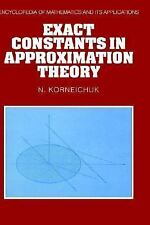 Exact Constants in Approximation Theory (Encyclopedia of Mathematics a-ExLibrary