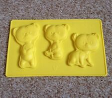 Eaglemoss Disney Chocolate /Icing Silicon Mould, Brave Bear Triplets, New
