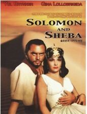 Solomon And Sheba (1959) DVD (Sealed) ~ King Vidor, Yul Brynner