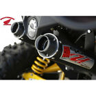 BIG GUN EVO U Dual Slip On Exhausts Can Am Maverick 1000 / XMR / MAX 2013-2015