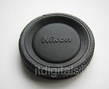 2x Body Cap For Nikon SLR DSLR AF MF Film Digital FE FM Camera Dust Safety Cover