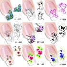 Nail Art Stickers Nail Water Decals Nail Transfers Flowers Floral