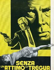 BROCHURE,Senza un attimo di tregua,1968 Point Blank,Lee Marvin,Dickinson,Boorman