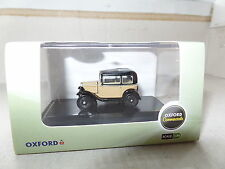 Oxford 76ASS001 ASS001 1/76 OO Scale Austin 7 Seven RN Saloon Fawn Yellow