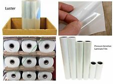 "3mil Semi-Gloss Laminate Clear Self-Adhesive UV Vinyl Film PVC Roll 30"" x 150'"