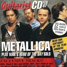 Guitarist Magazine CD / CD12 - February 1997 - Metallica
