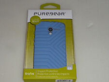 NEW IN BOX CELL PHONE PUREGEAR MOTOROLA MOTO X GRIPTEK BLUE CASE 60323PG NIB