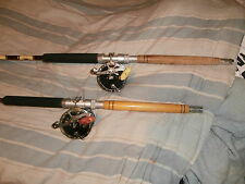 2 PENN #49 WITH MONEL WIRE STRIPER TROLLING PENN RODS  COMBOS
