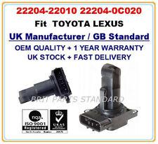 TOYOTA LEXUS Mass Air Flow meter Sensor 22204-22010 2220422010 22204-0J010