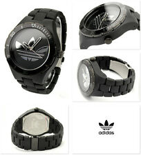 NEW-ADIDAS MELBOURNE BLACK TONE,BLACK NYLON BAND, WATCH ADH2643