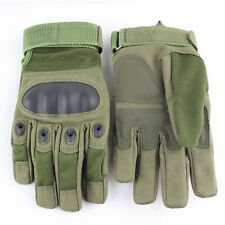 Military Tactical Gloves Army Outdoor Sports Protective Hard Knuckle Full Finger