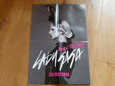 LADY GAGA - BORN THIS WAY!!!RARE FRENCH PROMO  PRESS/KIT POSTER