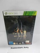 TWO WORLDS 2 II ROYAL COLLECTOR'S EDITION - XBOX 360 - NUOVO SIGILLATO NEW