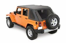 Rampage 2-in-1 Frameless Combo Soft Top 2007-2016 4dr Jeep Wrangler JK 109835