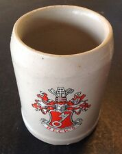 Becks Coat Of Arms Mug Cup .5 Liter .5l Perfect Beer Tankard Stein Pottery Clay