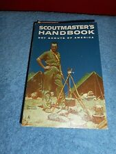 BOY SCOUTS OF AMERICA 1961 SCOUT MASTERS HAND BOOK WITH 1ST CLASS SCORECARD
