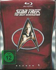 Star Trek Next Generation Season 1 Blu-Ray NEU OVP Sealed Deutsche Ausgabe