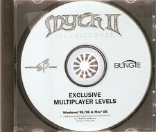 *VERY RARE* Myth II 2 Soulblighter Exclusive Multiplayer Levels PC IBM Mac Apple