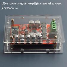 TDA7492P Bluetooth4.0 Audio Receiver Power Amplifier Board Acrylic Case Box Only