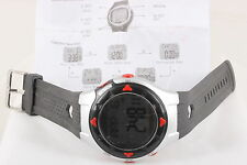 HEART MONITOR CHRONO W/ SENSOR WRISTWATCH W/ MANUAL 7807