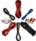 4 Gauge Amplfier Power Kit for Amp Install Wiring Complete RCA Cable RED 3000W