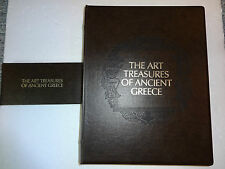 FRANKLIN MINT  THE ART TREASURES OF ANCIENT GREECE  24 K GOLD ON BRONZE