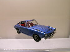 MARKLIN GERMANY 1812 GLAS/BMW 1600GT COUPE COLOUR BLUE MET. SCALE 1:43