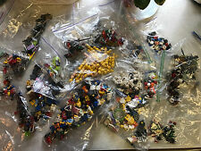 LEGO minifigure lot: HUNDREDS of parts: Accessories, Hair, heads, bodies Awesome