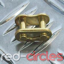 8mm T8F mini moto dirt bike doré disque chaîne split king link 47cc 49cc minimoto