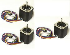 3pcs NEMA17 Stepper Motor,76 oz-in - DIY CNC, Robot, Reprap, Makerbot, Arduino,