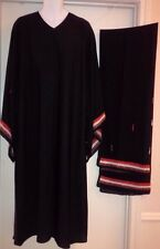 "BLACK ABAYA 2PCS(ABAYA with Matching Scarf"")SIZE L(52) color Design front open"