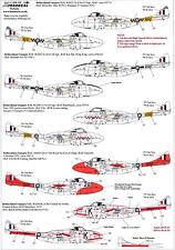 Xtra Decals 1/72 DE HAVILLAND VAMPIRE T.11 in RAF & Royal Navy Service