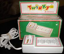 Vintage 80's Mr. Christmas Twinky #132 Variable Blinking Light Controller