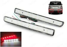 Range Rover Sport LR3 LR4 Clear Bumper Reflector LED Tail Brake Light DRL Backup