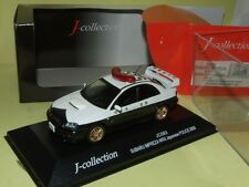 SUBARU IMPREZA WRX STi JAPANESE POLICE 2005 J-COLLECTION JC083 1:43