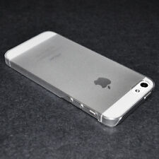New Premium Plastic 0.3mm Ultra Thin Cover Case For iPhone 5s 5 5G Frosted Clear