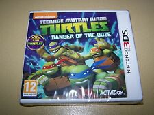 Teenage Mutant Ninja Turtles pericolo di Ooze per 3ds ** Nuovo e Sigillato **