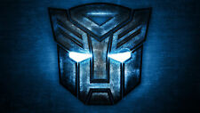 Transformers Optimus Prime  TV Show Logo  Photo Fridge Magnet Tool Box Decor #3