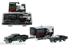 GREENLIGHT HITCH & TOW STEVE McQUEEN BULLITT MUSTANG 1/64 TRACK & TRAILER 51007